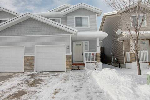 Townhouse for sale at 14208 36 St Nw Unit 21 Edmonton Alberta - MLS: E4137567