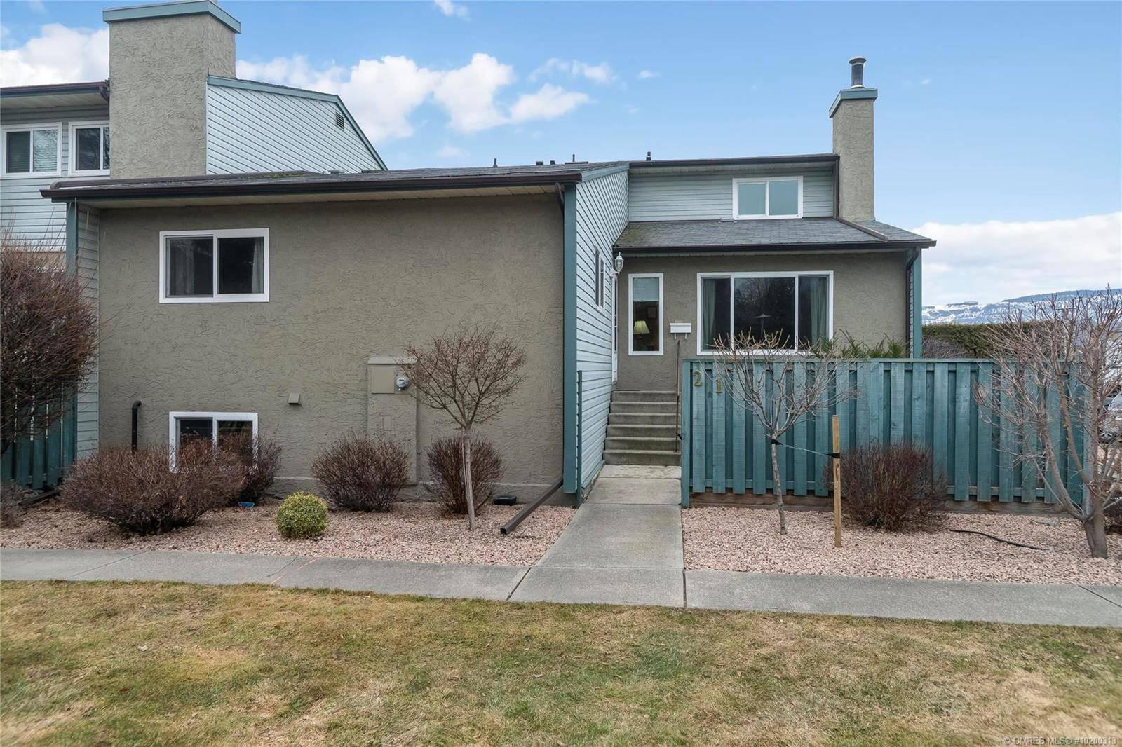 Townhouse for sale at 1471 Inkar Rd Unit 21 Kelowna British Columbia - MLS: 10200313