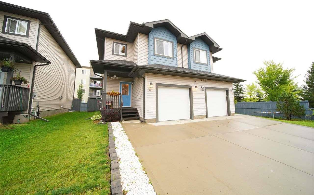 Townhouse for sale at 16004 54 St Nw Unit 21 Edmonton Alberta - MLS: E4190840