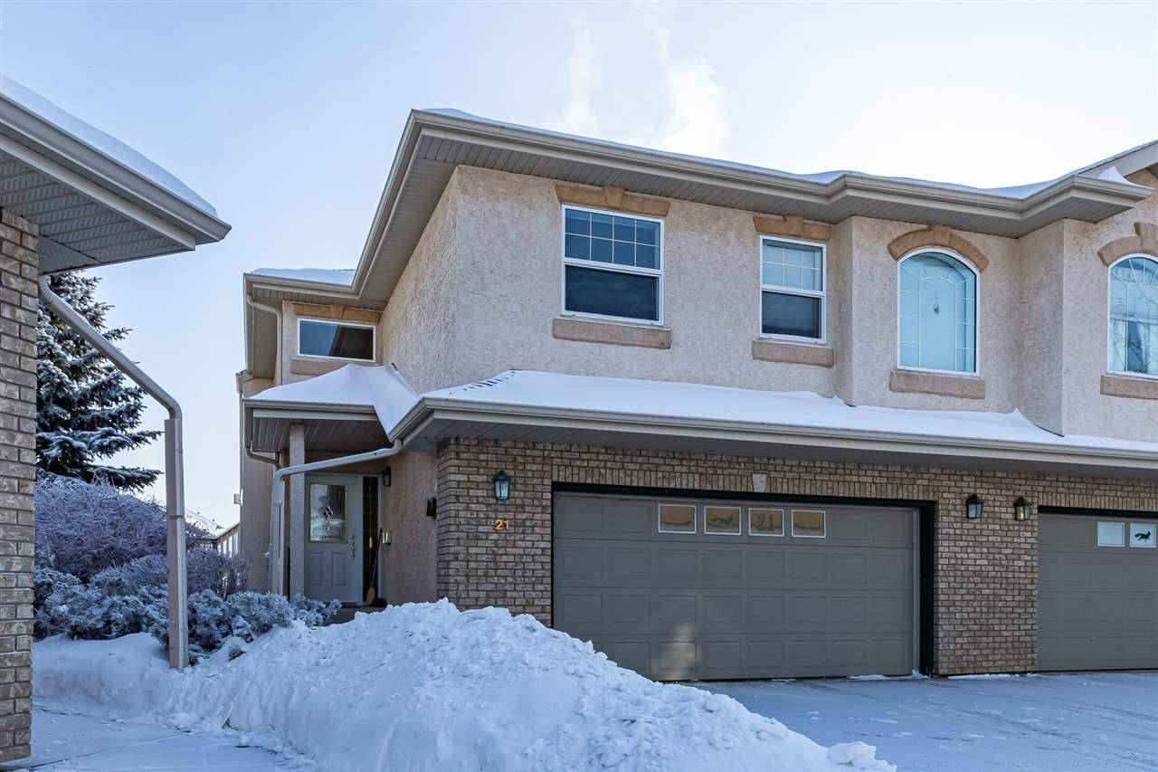 Townhouse for sale at 1601 Cloverbar Rd Unit 21 Sherwood Park Alberta - MLS: E4184591