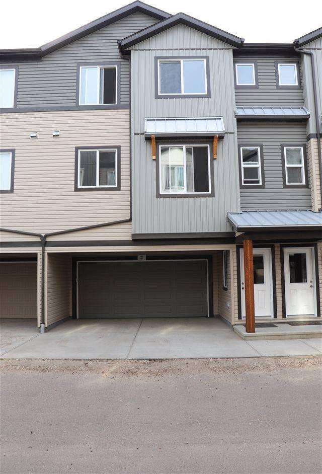 Townhouse for sale at 16903 68 St Nw Unit 21 Edmonton Alberta - MLS: E4184839