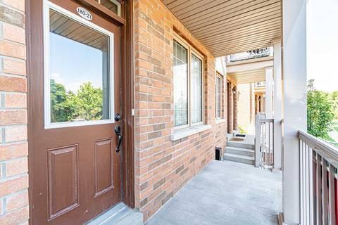 Condo for sale at 180 Howden Blvd Unit 21 Brampton Ontario - MLS: W4553147