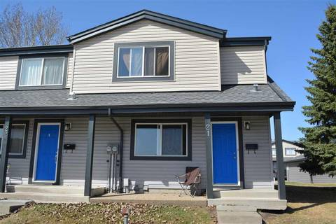 Townhouse for sale at 18010 98 Ave Nw Unit 21 Edmonton Alberta - MLS: E4109252