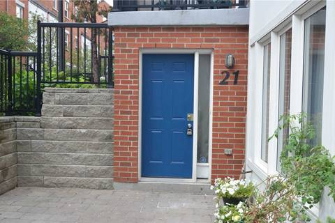 Apartment for rent at 21 Florence Wyle Ln Toronto Ontario - MLS: E4592104