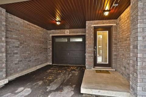 Condo for sale at 23 Echovalley Dr Unit #21 Hamilton Ontario - MLS: X4649605