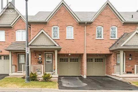 Townhouse for sale at 233 Duskywing Wy Unit 21 Oakville Ontario - MLS: 30714472