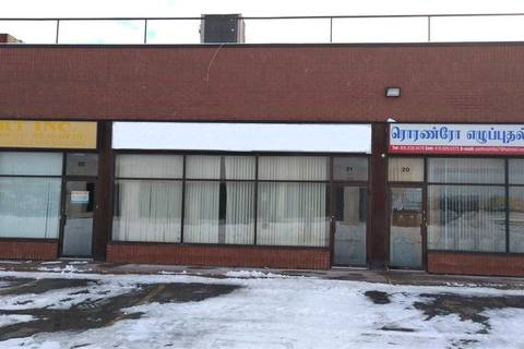 Commercial property for lease at 2721 Markhan Rd Apartment 21 Toronto Ontario - MLS: E4649960