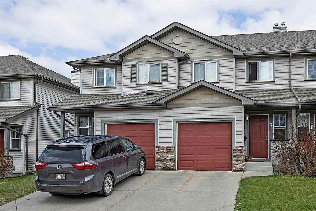 Townhouse for sale at 2816 34 Av NW Unit 21 Edmonton Alberta - MLS: E4202564