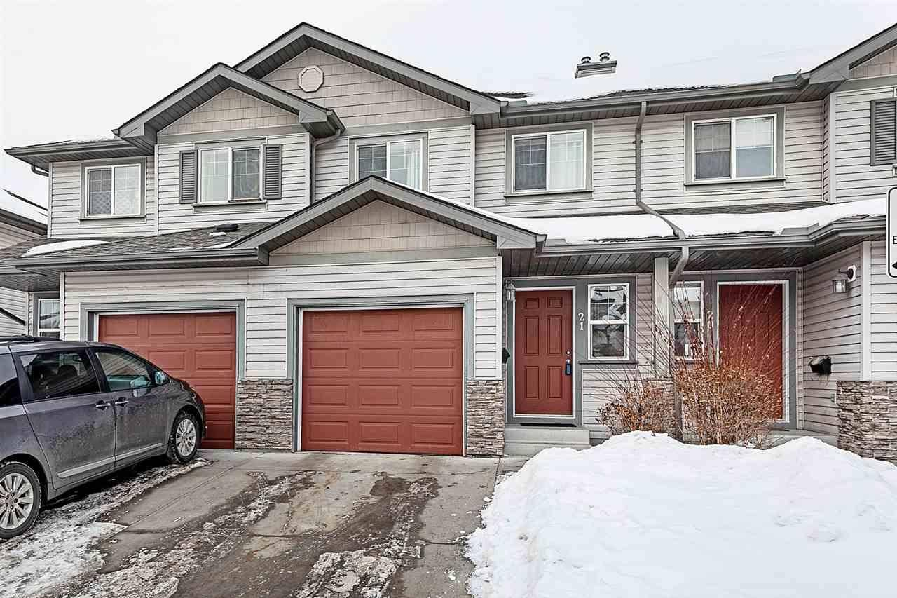 Townhouse for sale at 2816 34 Ave Nw Unit 21 Edmonton Alberta - MLS: E4185674