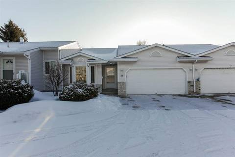 Townhouse for sale at 2 Fieldstone Dr Unit 21 Spruce Grove Alberta - MLS: E4150897