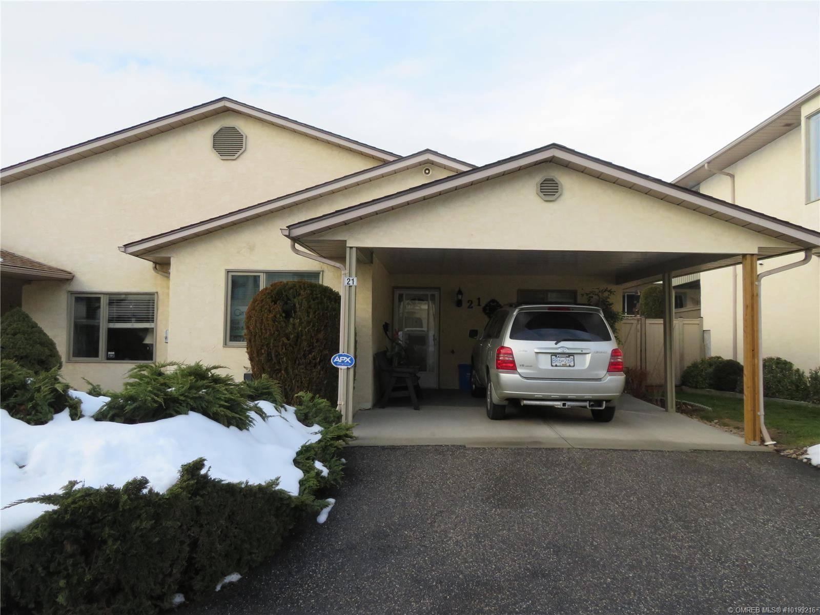 Townhouse for sale at 3850 Argyle Ave Unit 21 Vernon British Columbia - MLS: 10199216