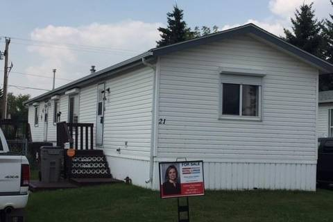 Residential property for sale at 4202 45 St Unit 21 Wetaskiwin Alberta - MLS: E4143459