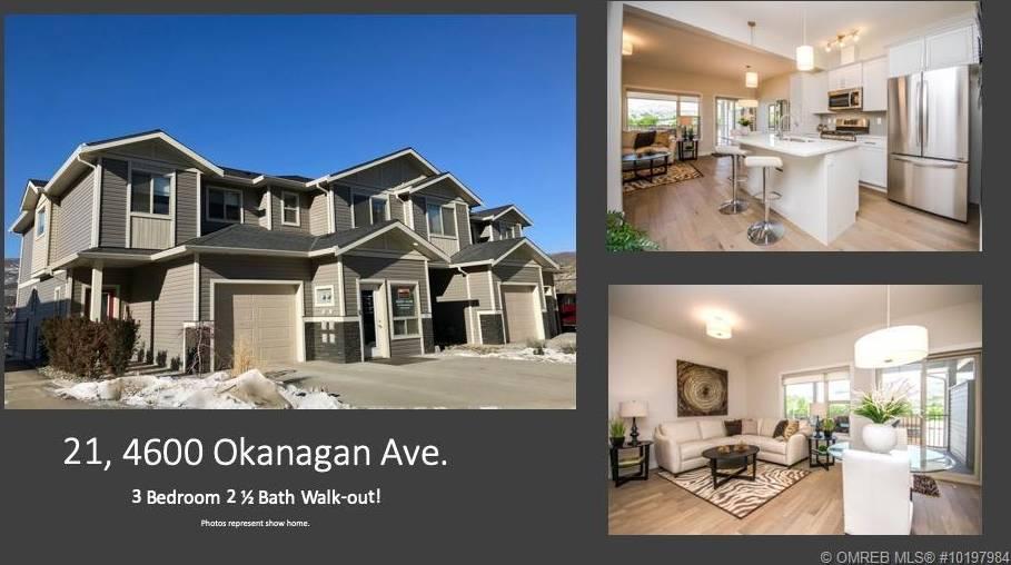 Townhouse for sale at 4600 Okanagan Ave Unit 21 Vernon British Columbia - MLS: 10197984