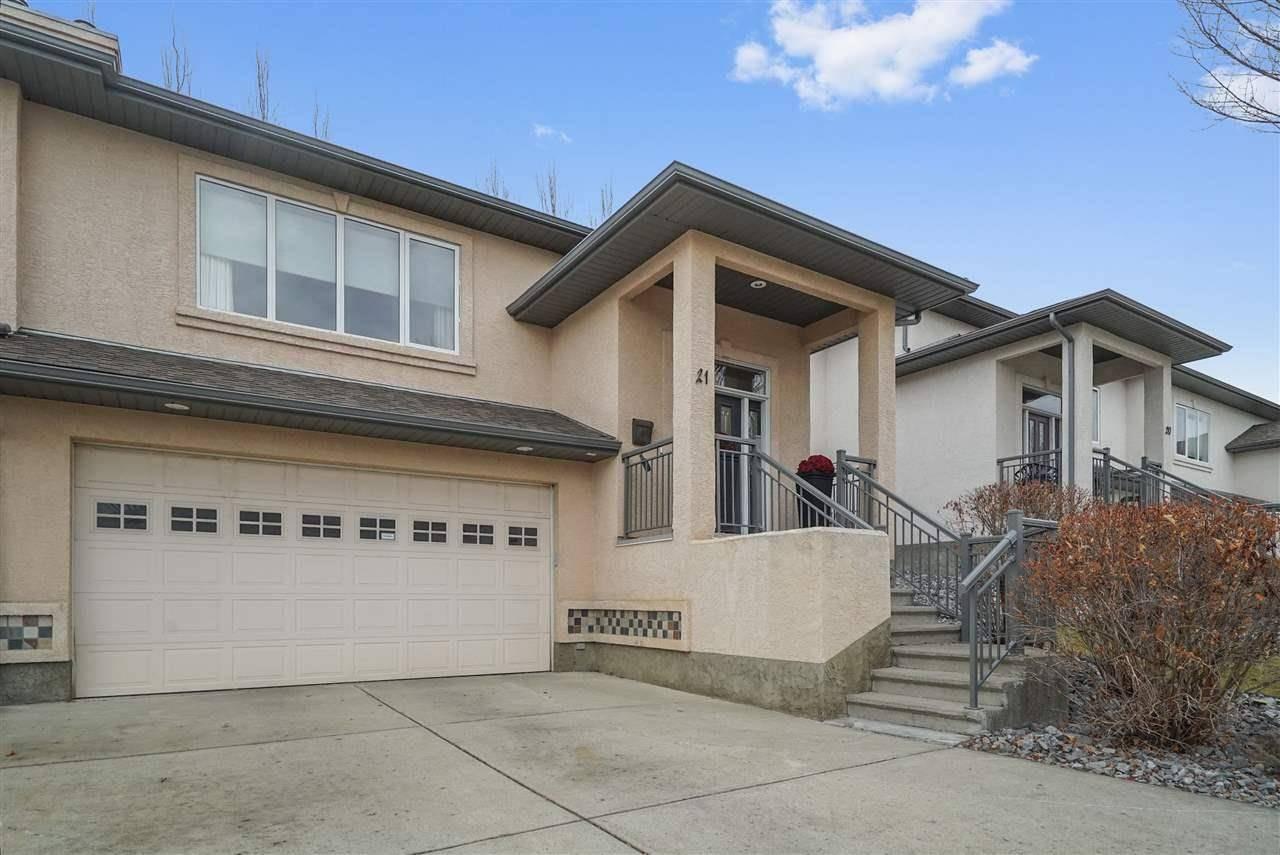 Townhouse for sale at 50 Oakridge Dr S Unit 21 St. Albert Alberta - MLS: E4182906
