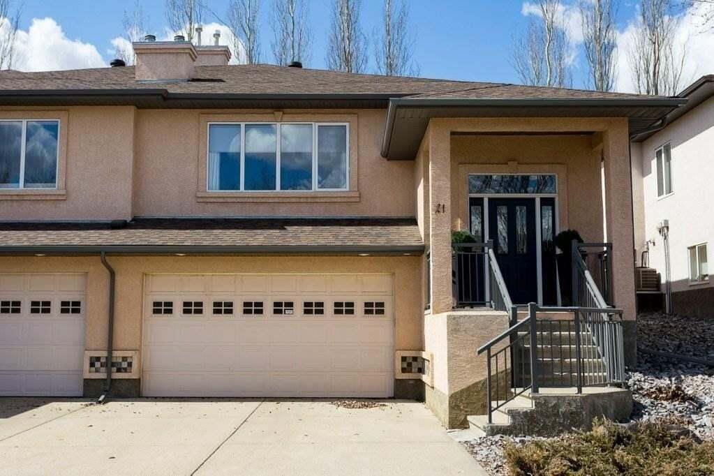 Townhouse for sale at 50 Oakridge Dr Unit 21 St. Albert Alberta - MLS: E4216056