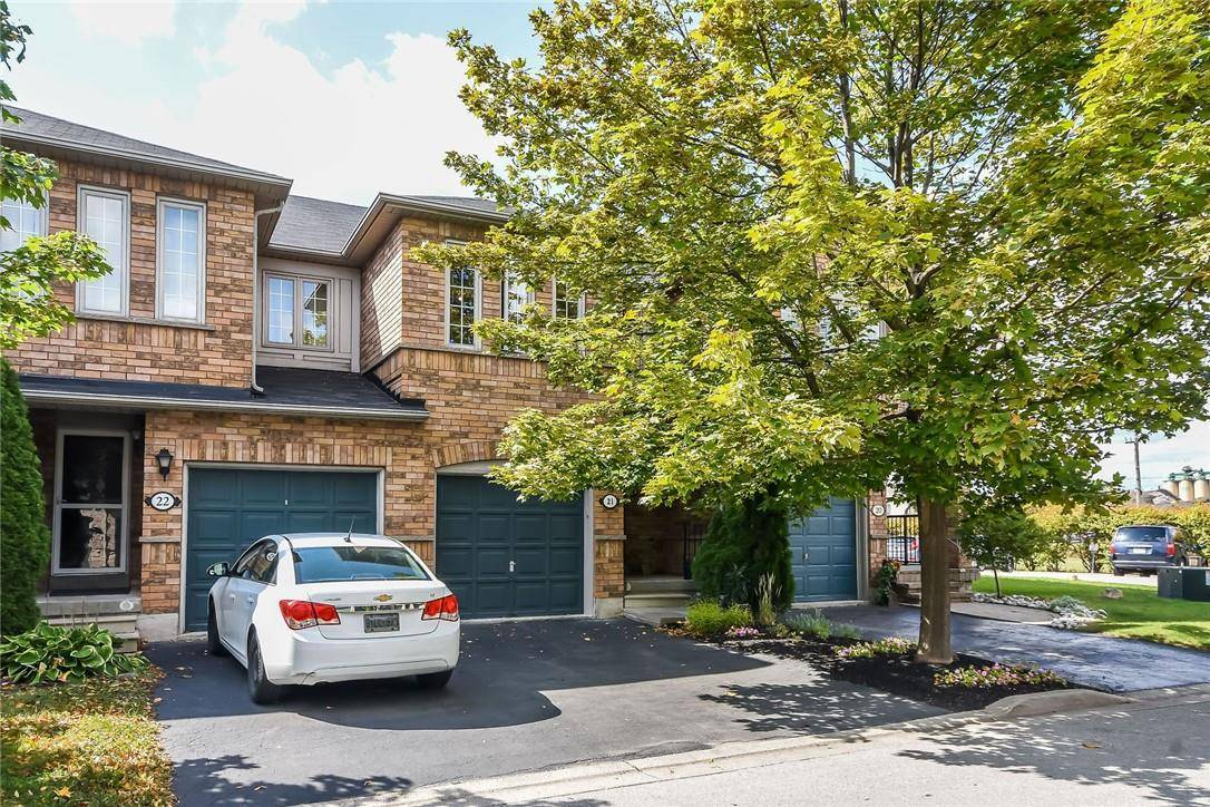 Townhouse for sale at 5555 Prince William Dr Unit 21 Burlington Ontario - MLS: H4064568