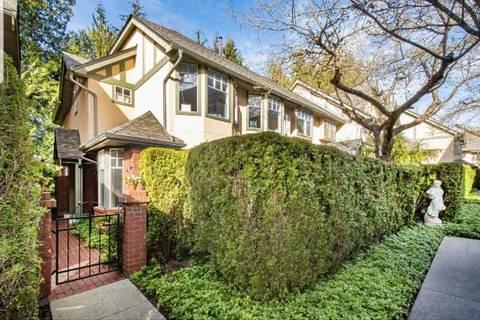 Townhouse for sale at 5880 Hampton Pl Unit 21 Vancouver British Columbia - MLS: R2351911