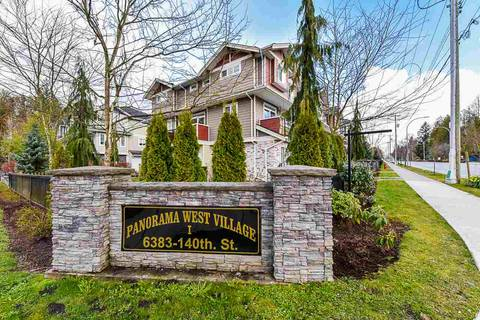 Townhouse for sale at 6383 140 St Unit 21 Surrey British Columbia - MLS: R2448331