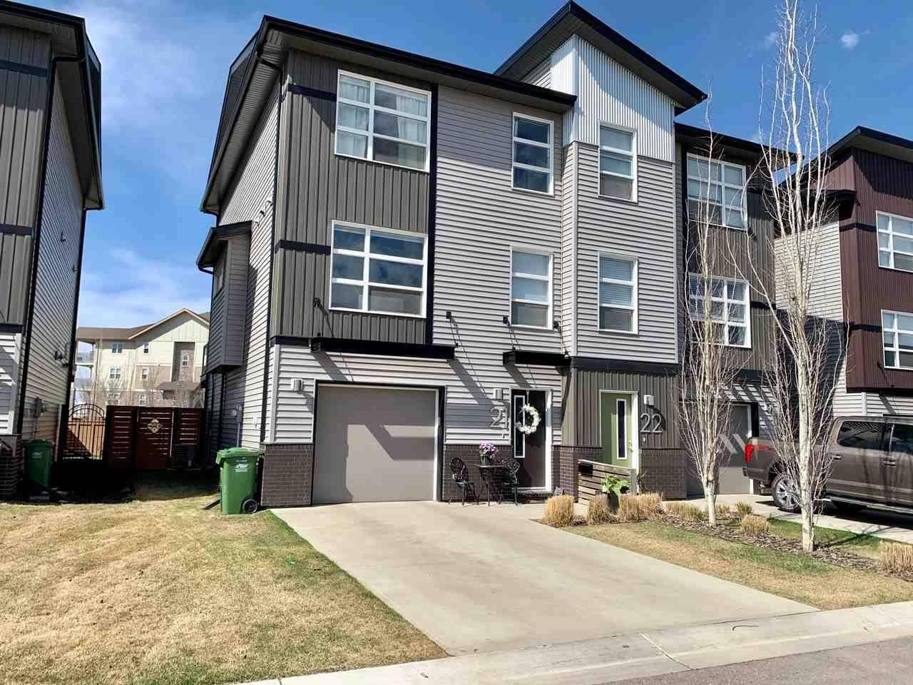 Townhouse for sale at 7 Nevada Pl Unit 21 St. Albert Alberta - MLS: E4190440