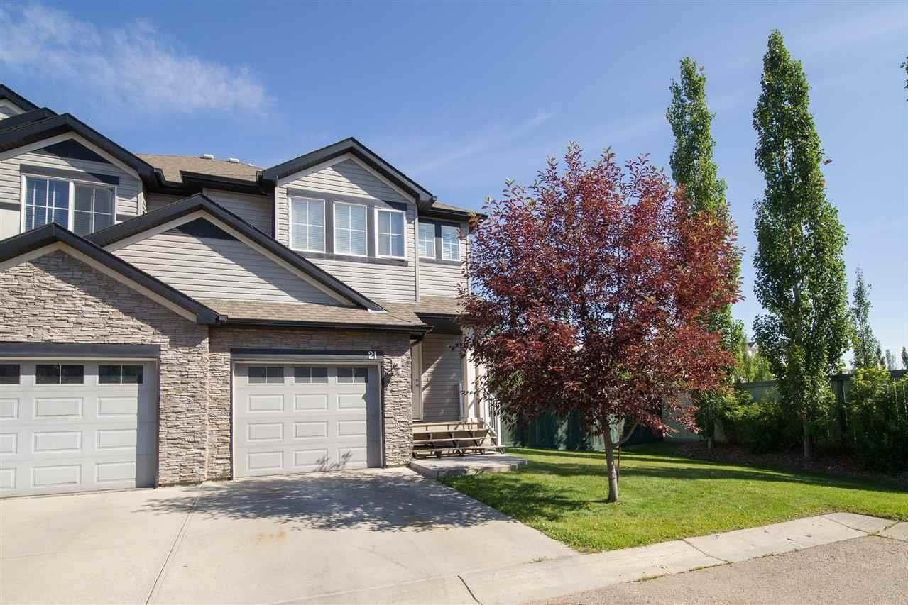 Townhouse for sale at 9231 213 St NW Unit 21 Edmonton Alberta - MLS: E4205430