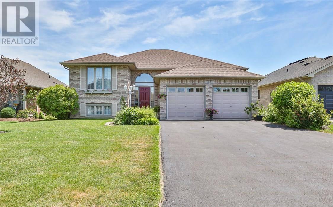 House for sale at 21 Bradbury Cres Paris Ontario - MLS: 30756278