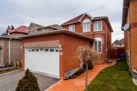 House for sale at 21 Carabram Ct Brampton Ontario - MLS: W4671193