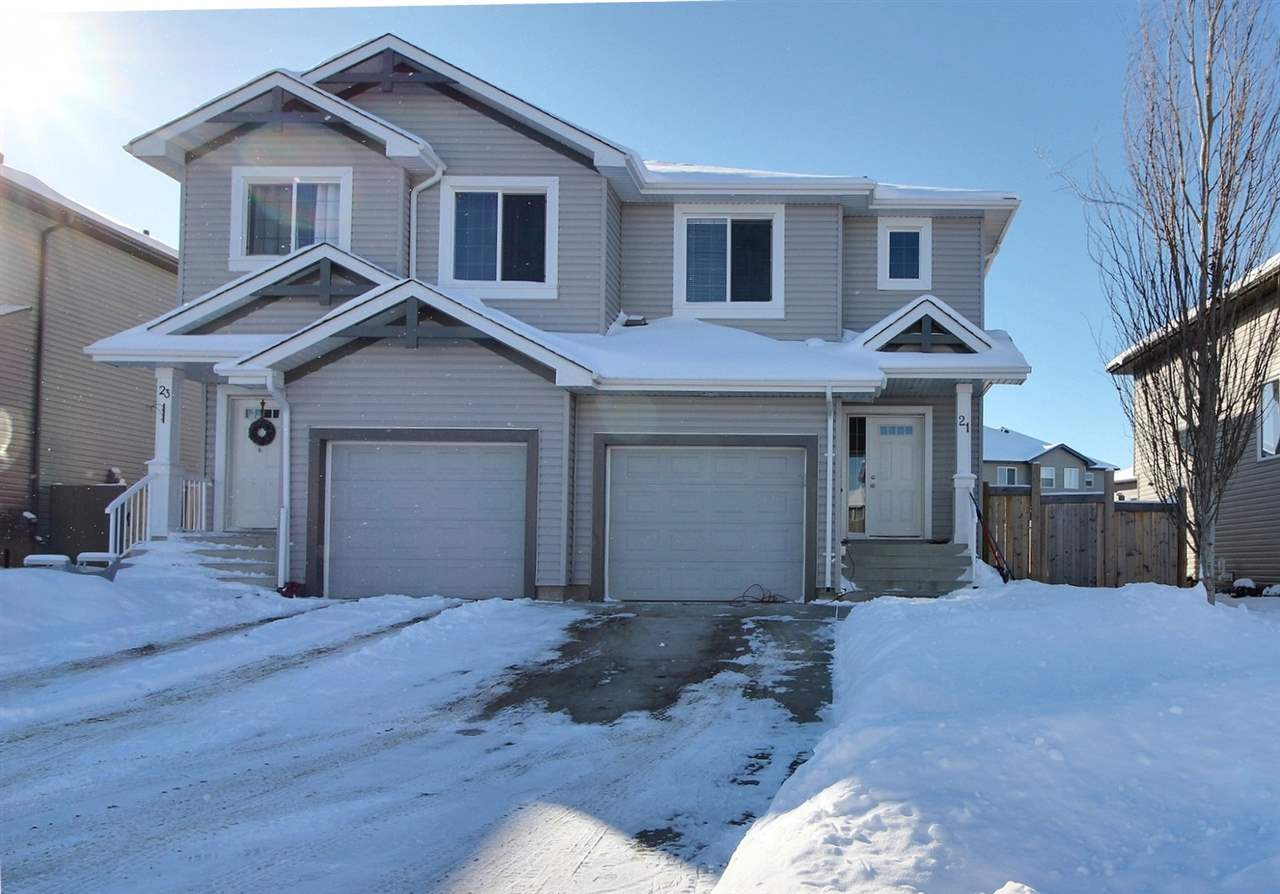 For Sale: 21 Caragana Way, Fort Saskatchewan, AB | 3 Bed, 3 Bath Townhouse for $289,900. See 14 photos!