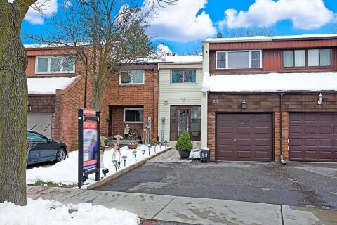 Townhouse for sale at 21 Cheatham Pl Toronto Ontario - MLS: E5000457