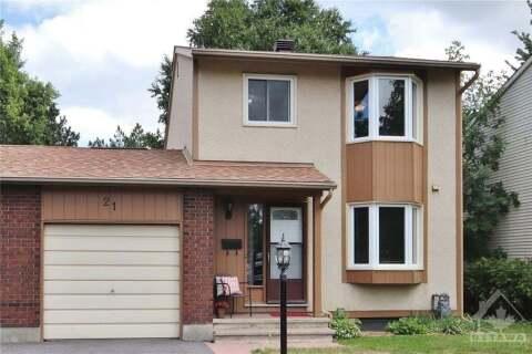 House for sale at 21 Dolan Dr Ottawa Ontario - MLS: 1210982
