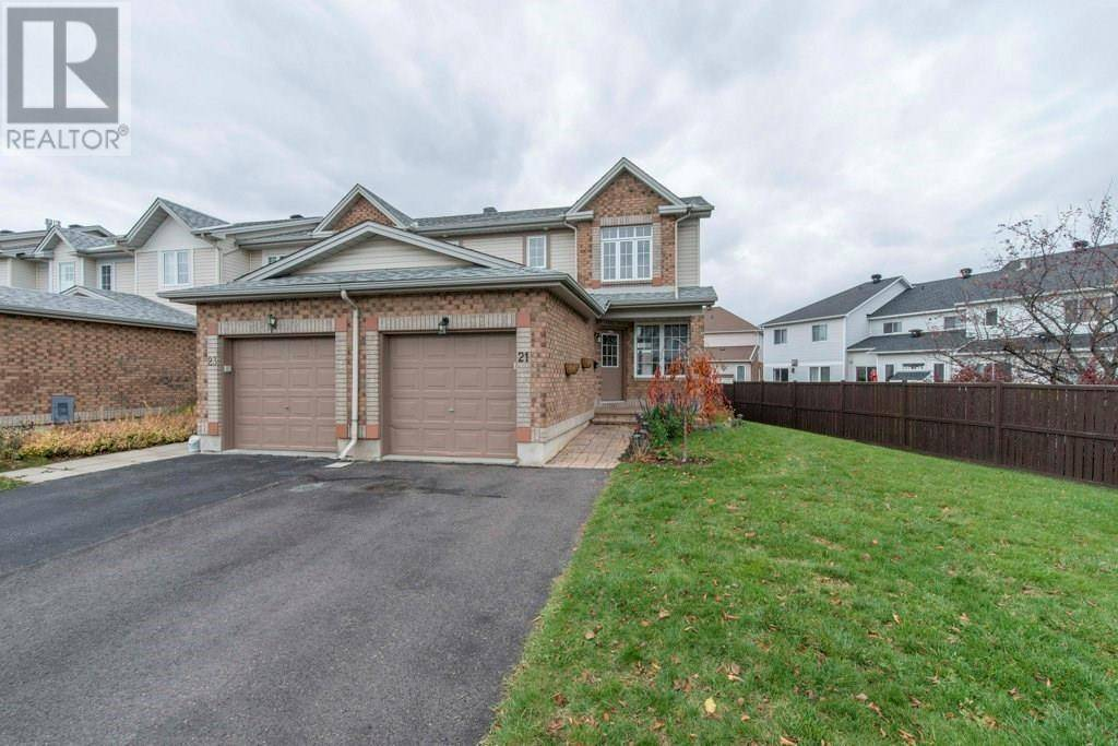 Townhouse for sale at 21 Drumso St Ottawa Ontario - MLS: 1174876