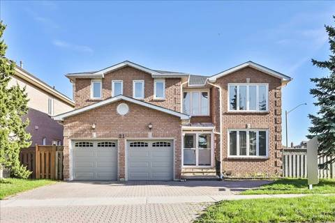 House for sale at 21 Eastdale Cres Richmond Hill Ontario - MLS: N4444593