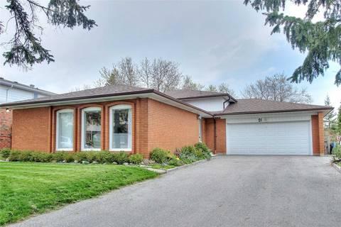 House for sale at 21 Eastlea Cres Toronto Ontario - MLS: E4454191
