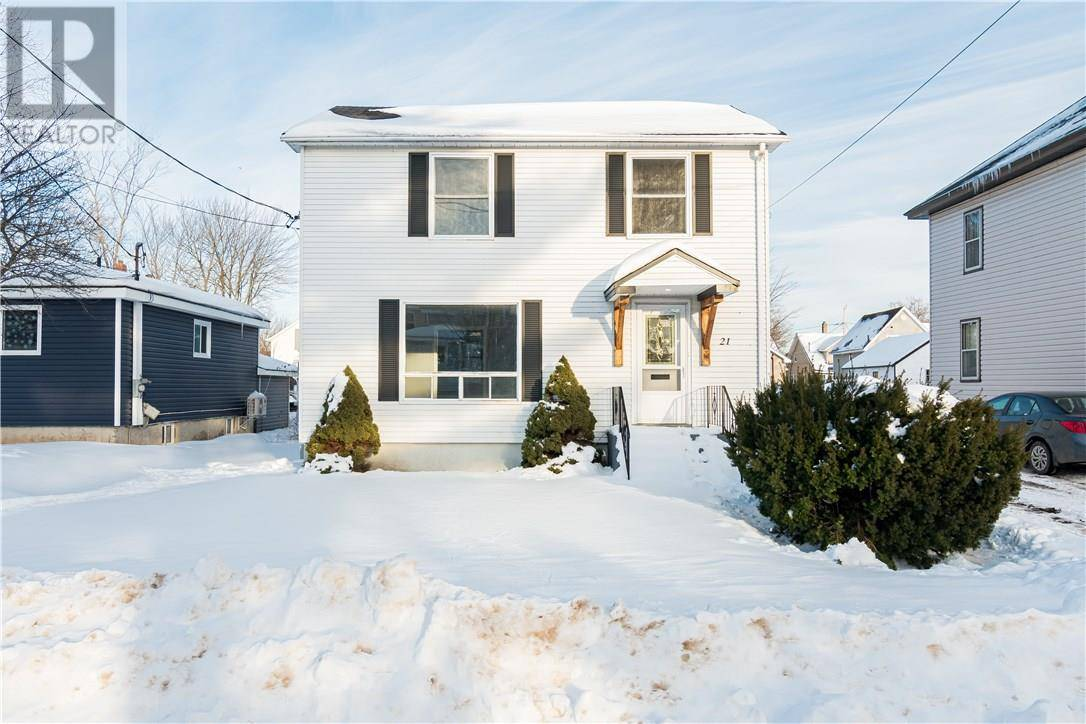 House for sale at 21 Emmerson  Moncton New Brunswick - MLS: M127051