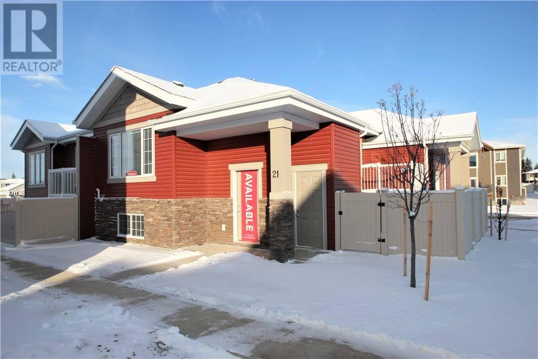 Townhouse for sale at 21 Gair Cs Red Deer Alberta - MLS: ca0168831