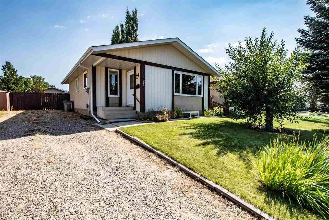House for sale at 21 Glenhall Cr Stony Plain Alberta - MLS: E4211327
