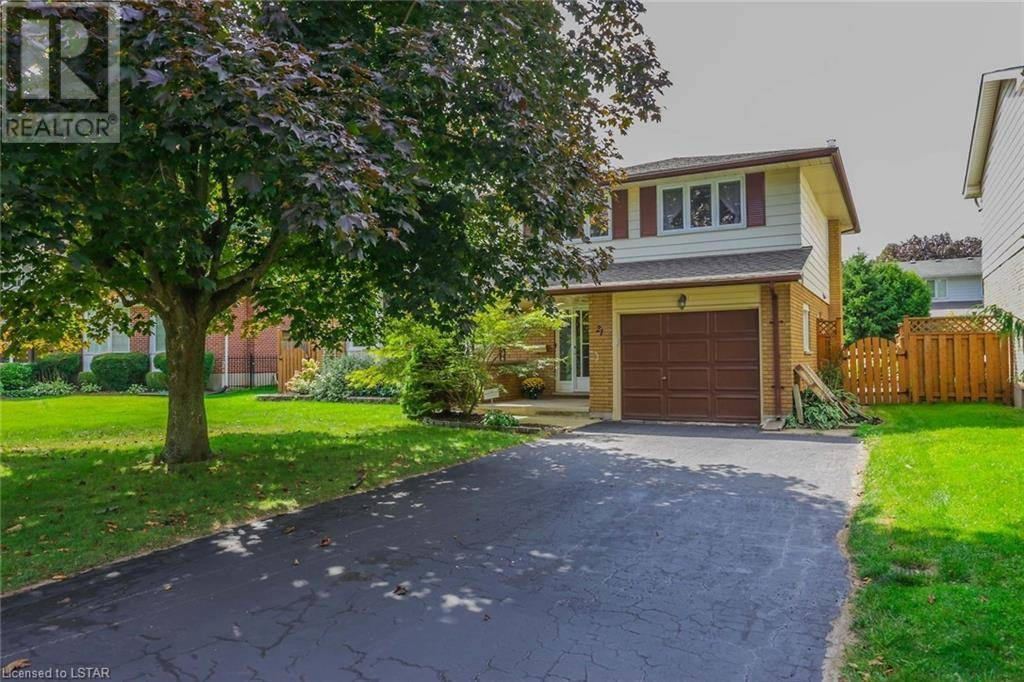 House for sale at 21 Hammond Cres London Ontario - MLS: 221124