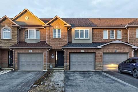 Townhouse for sale at 21 Hannon Cres Hamilton Ontario - MLS: X4645863