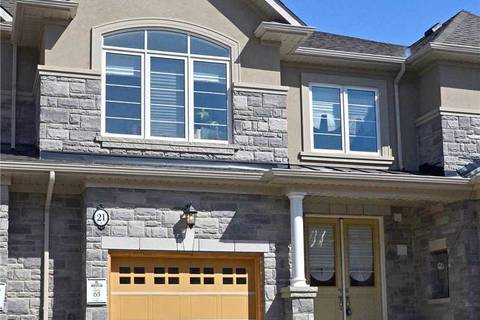 Townhouse for sale at 21 Heming Tr Hamilton Ontario - MLS: X4415998
