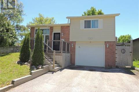 House for sale at 21 Hickling Tr Barrie Ontario - MLS: 30740142