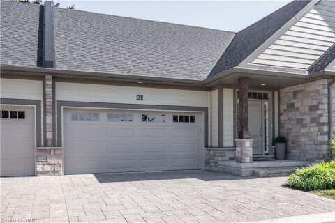 Townhouse for sale at 21 Jacob Common St. Catharines Ontario - MLS: 40019475