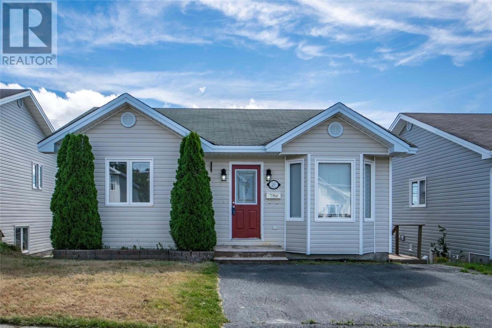 House for sale at 21 Kelland Cres St. John's Newfoundland - MLS: 1221039