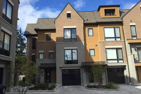 Townhouse for rent at 21 Kenneth Wood Cres Toronto Ontario - MLS: C4652175