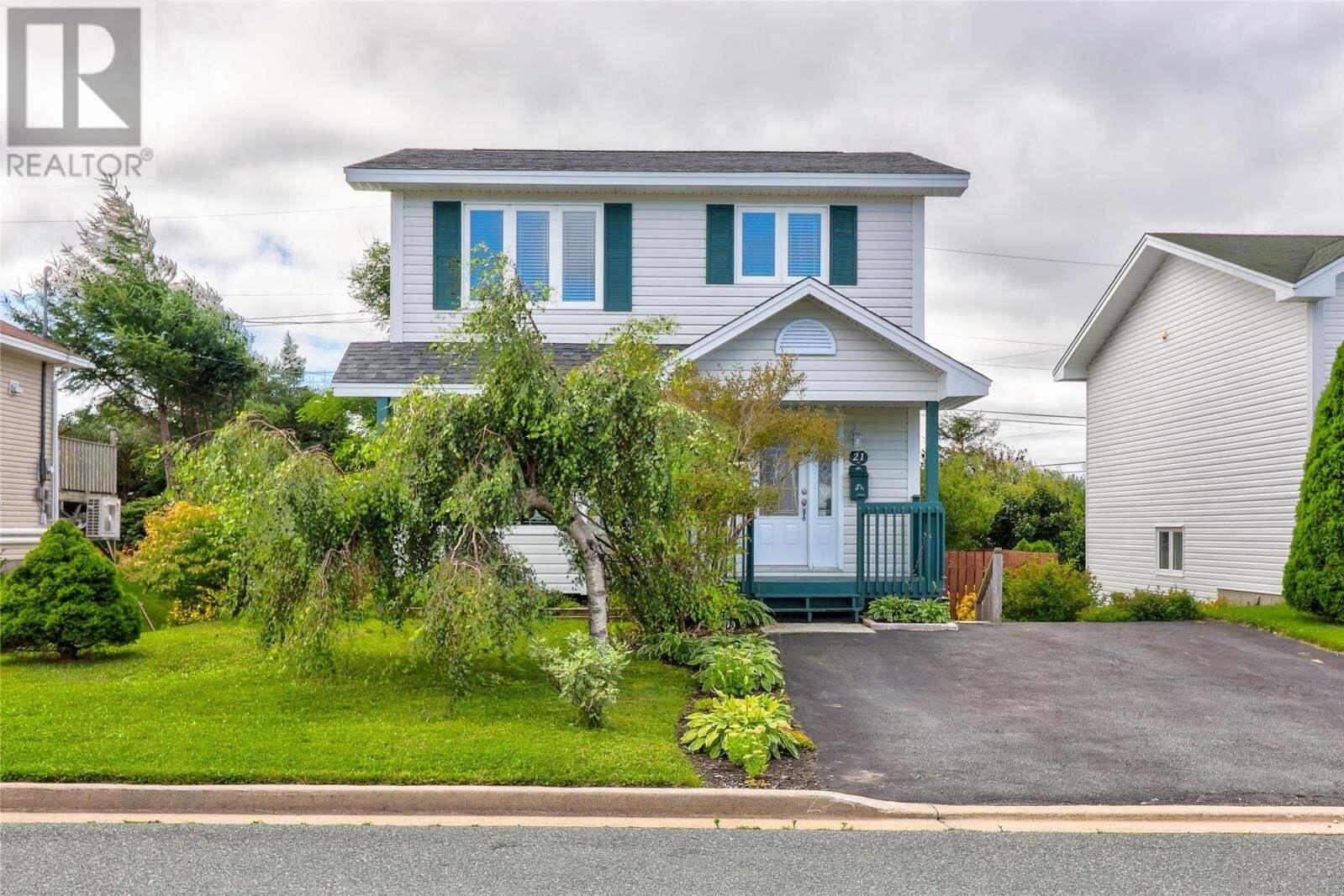 House for sale at 21 Maisonneuve Dr Mt. Pearl Newfoundland - MLS: 1220780