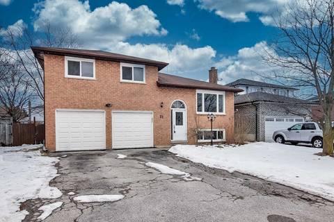 House for sale at 21 Oakmeadow Blvd Georgina Ontario - MLS: N4685277