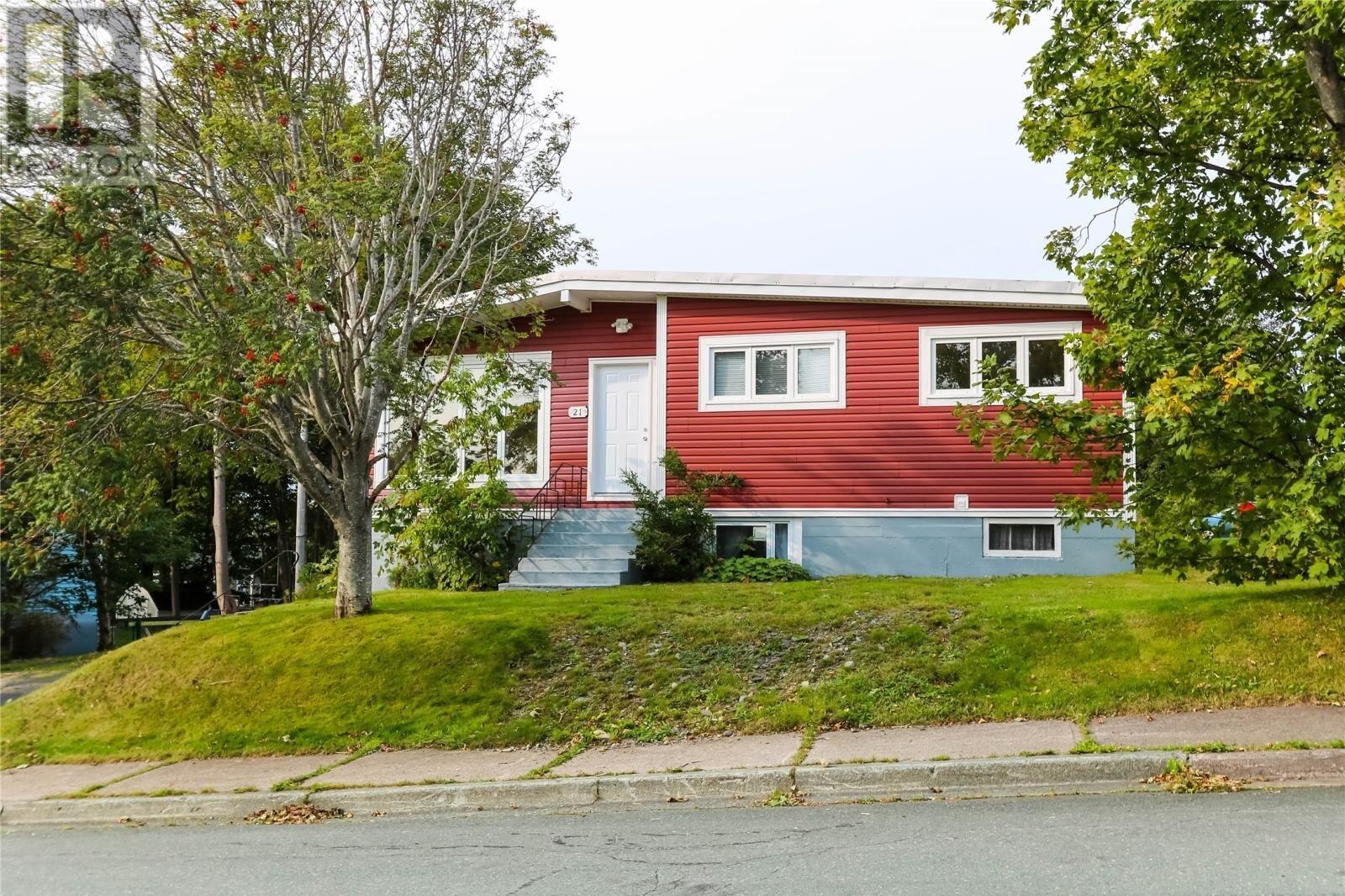 House for sale at 21 Pleasantville Ave St. John's Newfoundland - MLS: 1221618