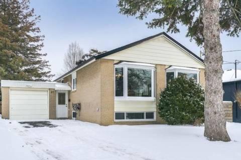 House for sale at 21 Puckeridge Cres Toronto Ontario - MLS: W4689082