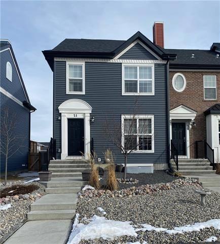 Townhouse for sale at 21 River Heights Li Cochrane Alberta - MLS: C4286639