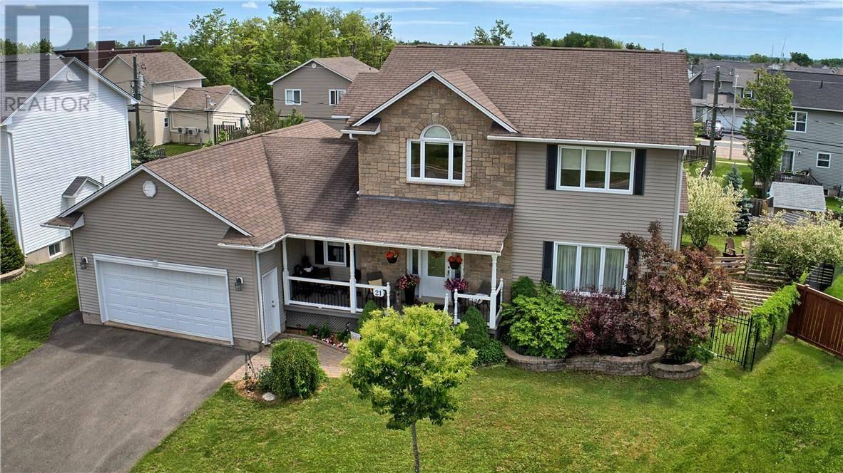 House for sale at 21 Slayton Ct Moncton New Brunswick - MLS: M123846