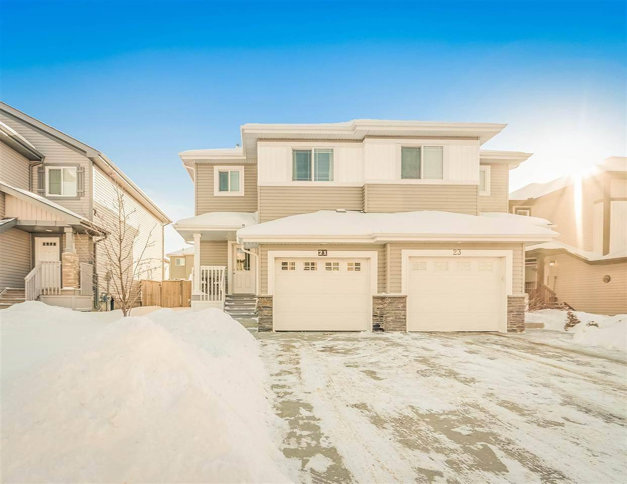 Townhouse for sale at 21 Springwood Wy Spruce Grove Alberta - MLS: E4188396