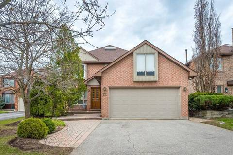 House for sale at 21 Tarlton Ct Vaughan Ontario - MLS: N4433774